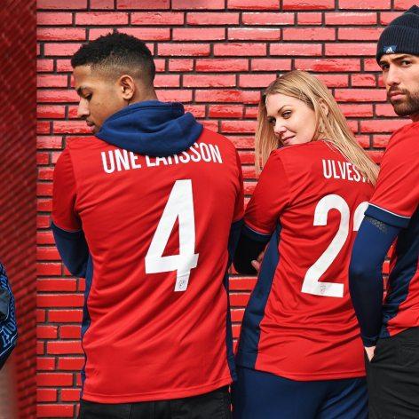 Djurgårdens IF 2020 adidas Away Football Kit, Soccer Jersey, Shirt, Andratröja, Tröja
