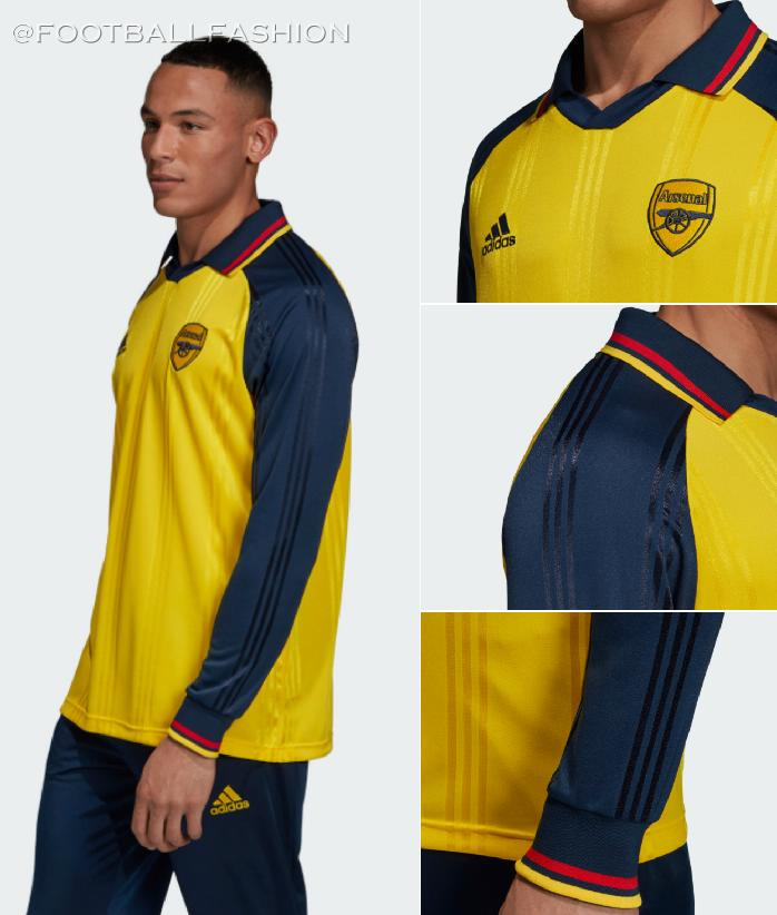 Arsenal FC 1990s-Inspired adidas Icon Kit - FOOTBALL FASHION