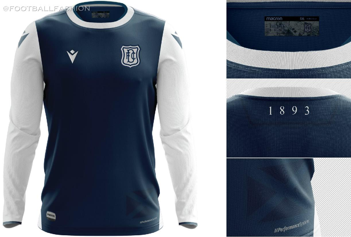 Dundee Fc 2020 21 Macron Home Kit Football Fashion Org
