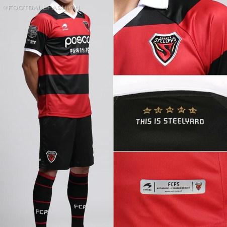 Pohang Steelers 2020 Astore Football Kit, Soccer Jersey, Shirt