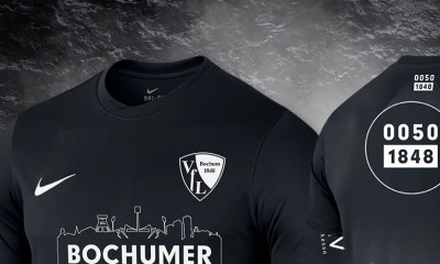 VfL Bochuum 2020 Back in Black Nike Soccer Jersey, Shirt, Kit, Trikot, Sondertrikot