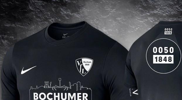 VfL Bochum 2020 Back in Black Nike Soccer Jersey, Shirt, Kit, Trikot, Sondertrikot