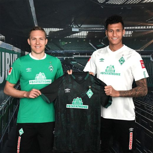Werder Bremen #STAYATHOME Umbro Football Kit, Soccer Jersey, Shirt, Trikot