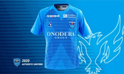 Yokohama FC 2020 Home Soccer Jersey, Shirt, Football Kit