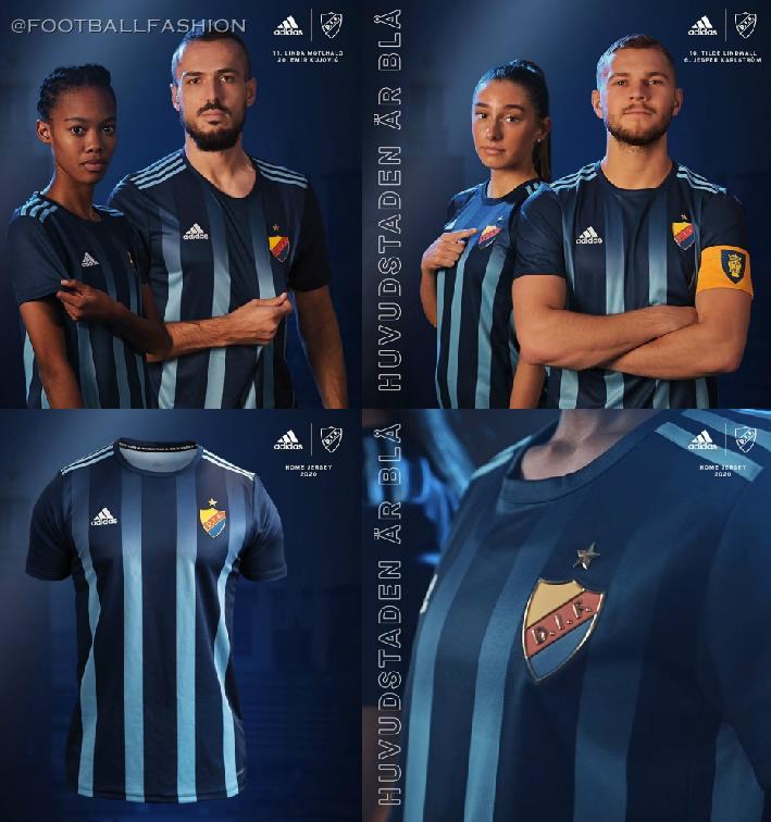 Djurgardens If 2020 21 Adidas Home Kit Football Fashion Org