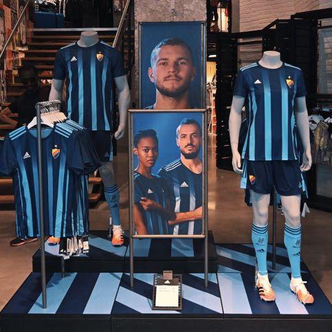 Djurgårdens IF 2020 2021 adidas Home Football Kit, Soccer Jersey, Shirt, Hemmatröjan , Tröja