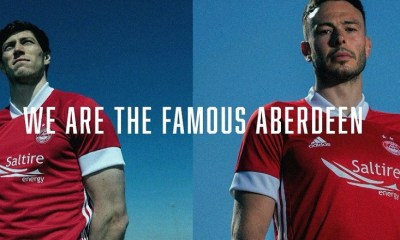 Aberdeen FC 2020 2021 adidas Home and Away Football Kit, Soccer Jersey, Shirt