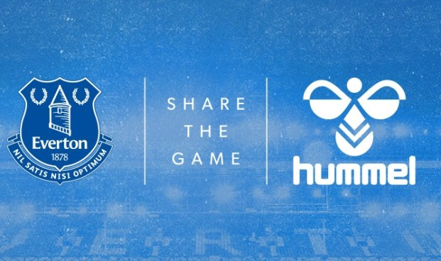 Everton FC Sign Record Kit Deal with hummel