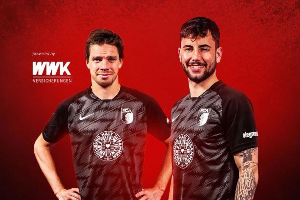 FC Augsburg 2020 #AUGSBURGHÄLTZUSAMMEN2020 Nike Special Edition Football Kit, Soccer Jersey, Shirt, Trikot, Sondertrikot