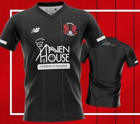 Sponsored by Harry Kane - Leyton Orient's 2020 2021 Football Kit, Soccer Jersey, Shirt