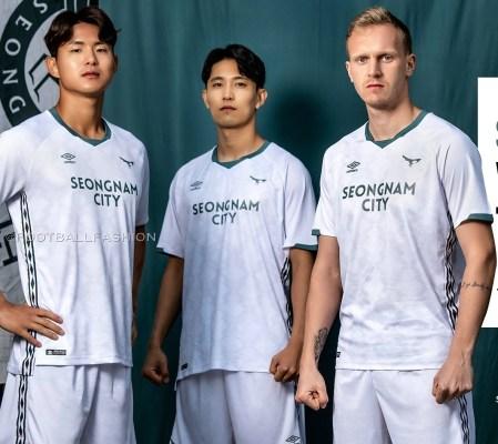 Seongnam FC 2020 Umbro Home and Away K League 1 Football Kit, Soccer Jersey, Shirt