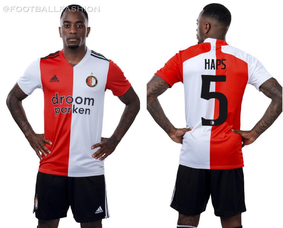 Feyenoord Rotterdam 2020/21 adidas Home Kit - FOOTBALL FASHION