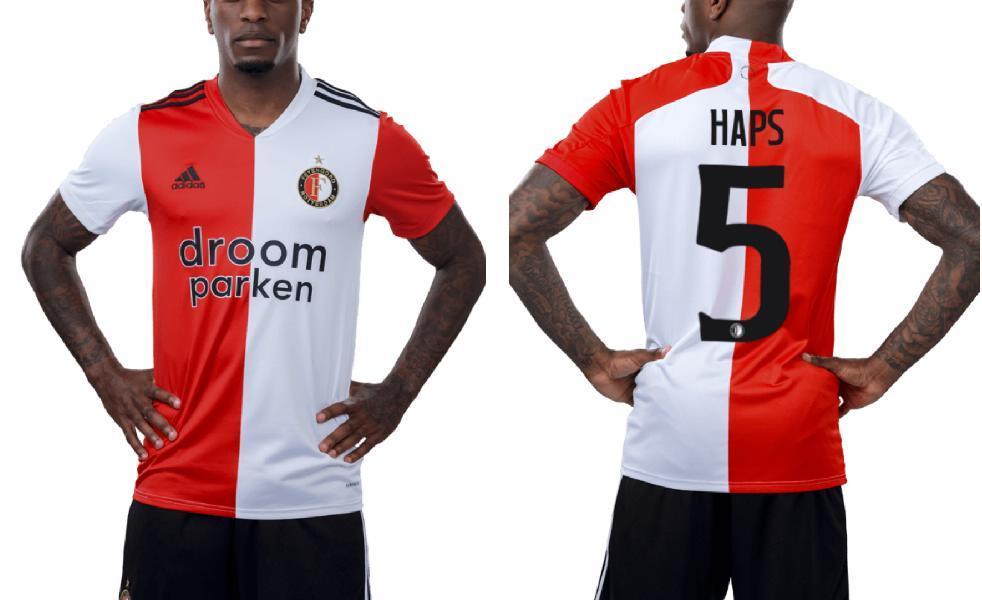 Feyenoord Rotterdam 2020 21 Adidas Home Kit Football Fashion