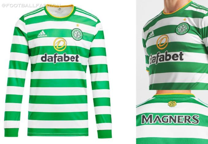 Celtic FC 2020 2021 adidas Home Football Kit, 2020-21 Soccer Jersey, 2020/21 Shirt