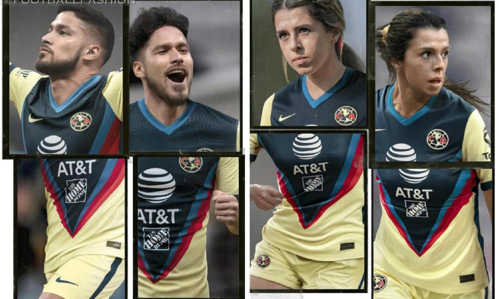 Club América 2020 2021 Nike Home Soccer Jersey, Shirt, 2020-21 Football Kit, Camiseta de Futbol 2020/21