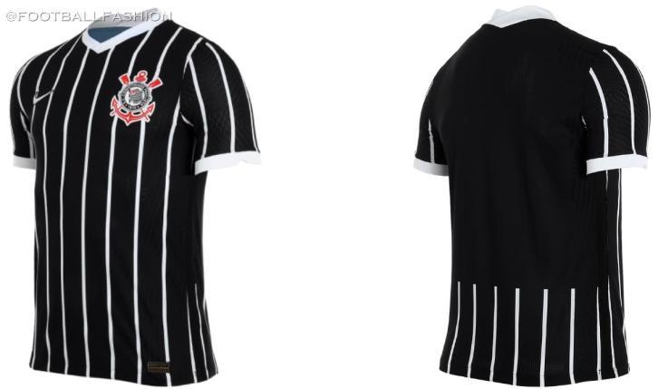 Corinthians 2020 2021 Nike Away Football Kit, 2020/21 Soccer Jersey, 2020-21 Shirt, Camisa II