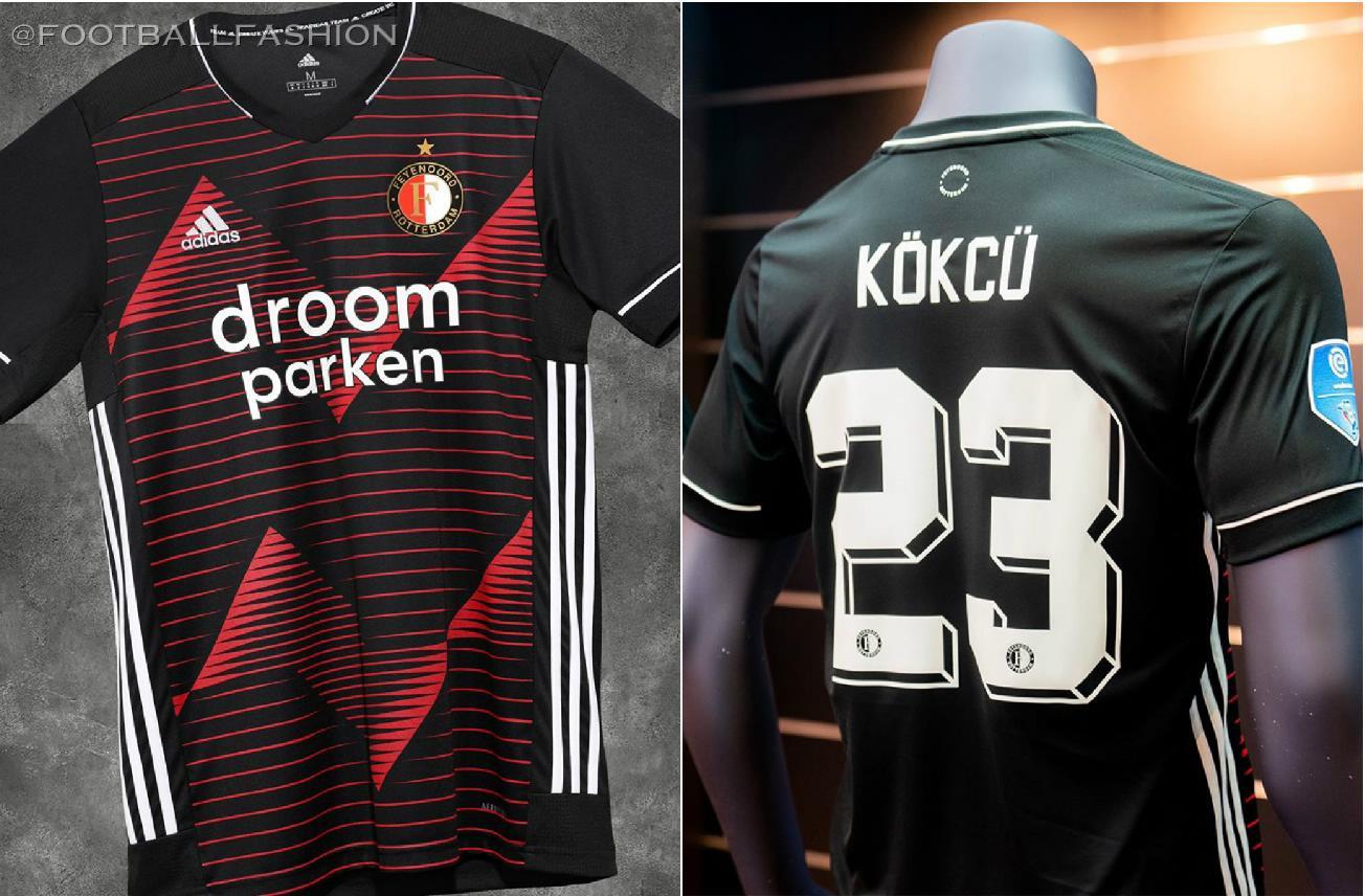 Feyenoord Rotterdam 2020 21 Adidas Away Kit Football Fashion