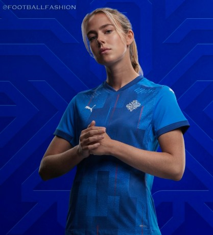 Iceland 2020 2021 PUMA Home Football Kit, 2020-21 Soccer Jersey, 2020/21 Shirt
