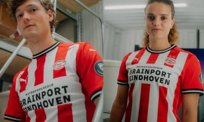 PSV Eindhoven 2020 2021 PUMA Home Football Kit, Soccer Jersey, 2020-21 Shirt, 2020/21 Thuisshirt