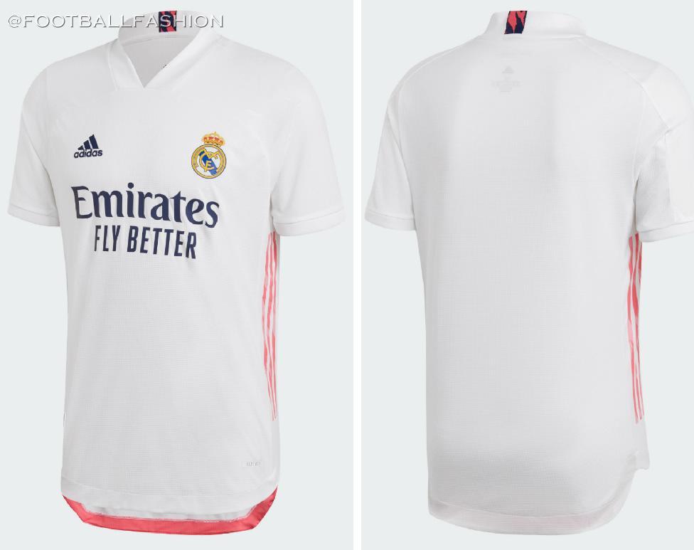 Real Madrid 2020/21 adidas Home and Away Kits - FOOTBALL FASHION