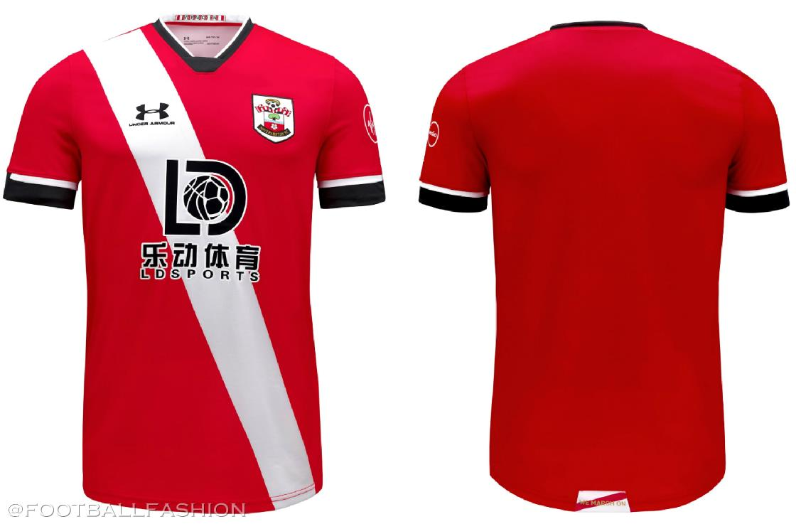 Southampton 2020 21 Under Armour Home And Third Kits