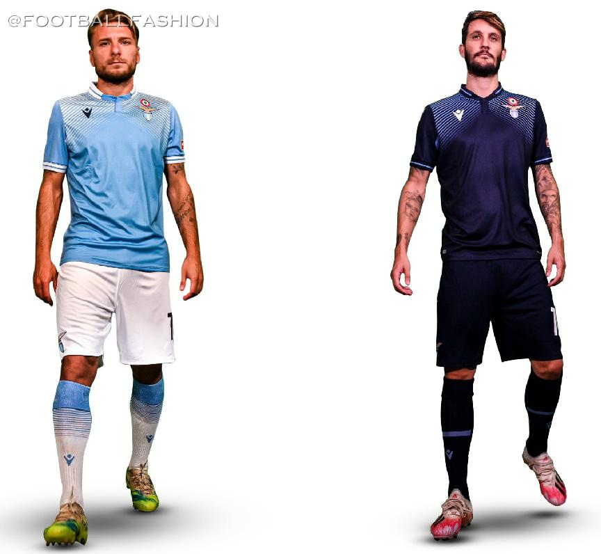 Ss Lazio 2020 21 Macron Home And Third Kits Football Fashion Org