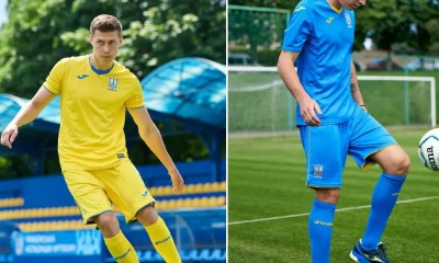 Ukraine 2020 2021 Joma Home and Away Football Kit, 2020-21 Shirt, 2020/21 Soccer Jersey