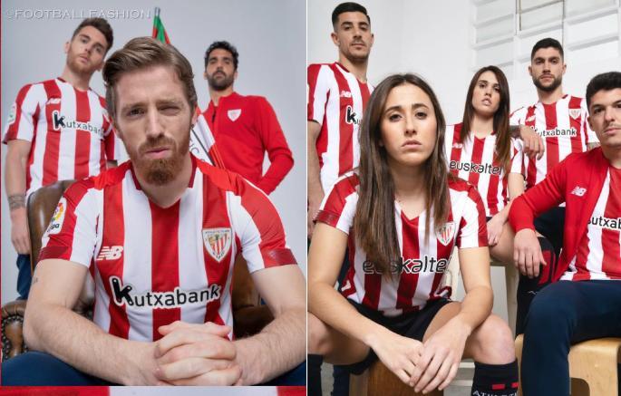 Athletic Club 2020/21 New Balance Home Football Kit, 2020/21 Soccer Jersey, 2020-21 Shirt, Camiseta de Futbol