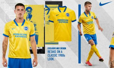 Brighton & Hove Albion 2020/21 Nike Away Football Kit, 2020-21 Soccer Jersey, 2020/21 Shirt