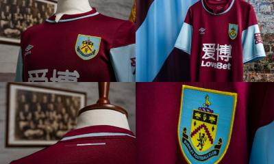 Burnley FC 2020 2021 Umbro Home Kit, 2020-21 Football Shirt, 2020/21 Soccer Jersey
