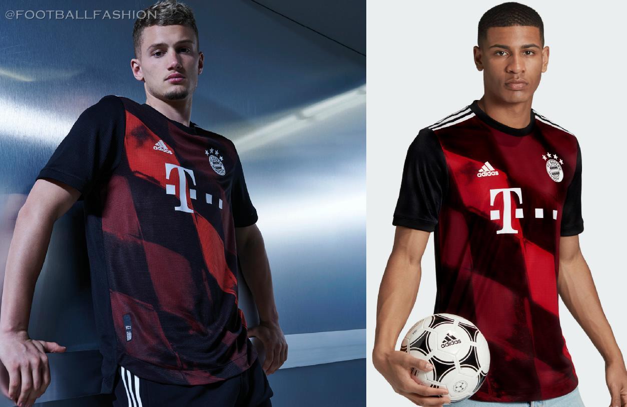 Bayern Monaco Away Camicia 2020/21 Attrezzature escursionismo ...