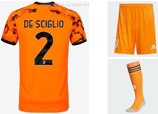 Juventus 2020/21 adidas Orange Third Football Kit, 2020-21 Shirt, 2020/21 Jersey, Maglia, Gara, Camiseta, Camisa, Trikot, Dres, Maillot