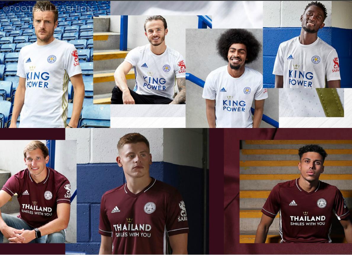 Leicester City 2020/21 adidas Away Kits - FOOTBALL FASHION