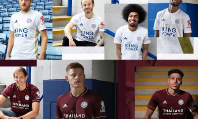 Leicester City 2020/21 adidas Away Football Kit, 2020 2021 Soccer Jersey, 2020-21 Shirt
