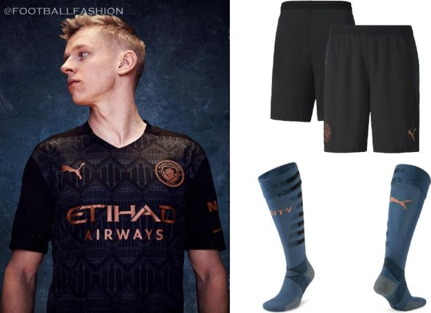 Manchester City FC 2020 2021 PUMA Away Football Kit, 2020-21 Shirt, 2020/21 Soccer Jersey, Maillot, Camiseta, Camisa, Trikot, Tenue