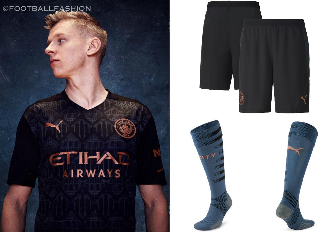 Manchester City 2020 21 Puma Away Kit Football Fashion