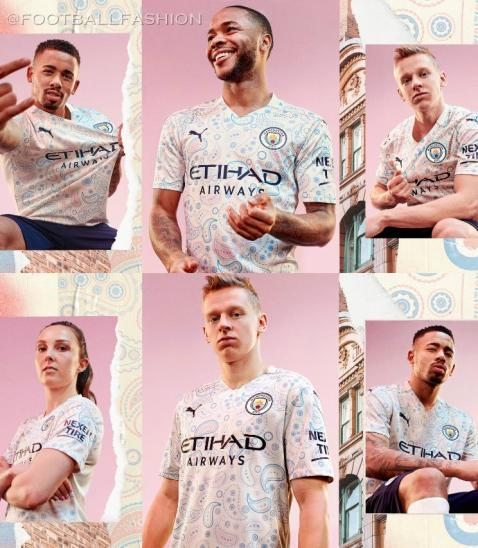Manchester City FC 2020 2021 PUMA Third Football Kit, 2020-21 Shirt, 2020/21 Soccer Jersey, Maillot, Camiseta, Camisa, Trikot, Tenue