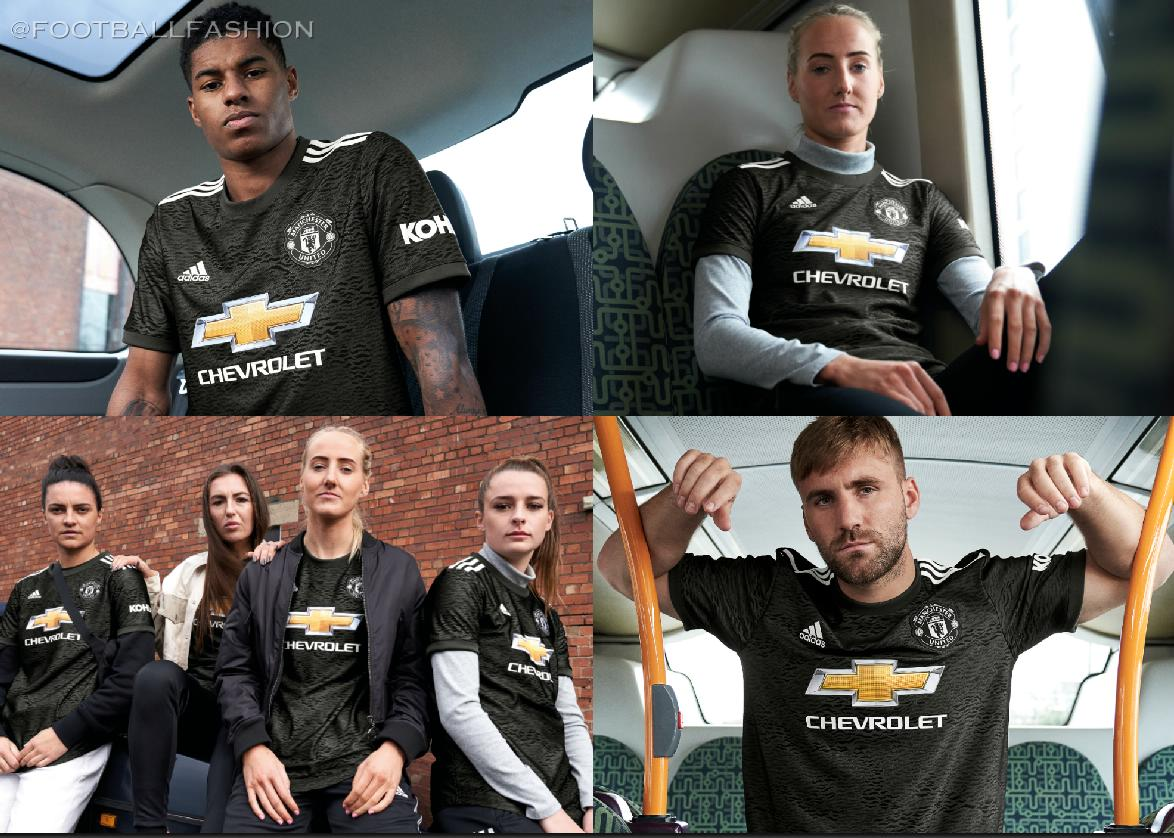 Manchester United 2020 21 Adidas Away Kit Football Fashion