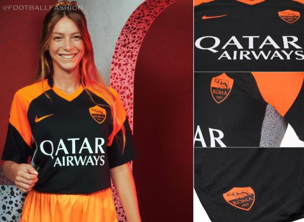 AS Roma 2020 2021 Nike Third Football Kit, 2020-21 Soccer Jersey, 2020/21 Shirt, Gara, Maglia, Camisa, Camiseta
