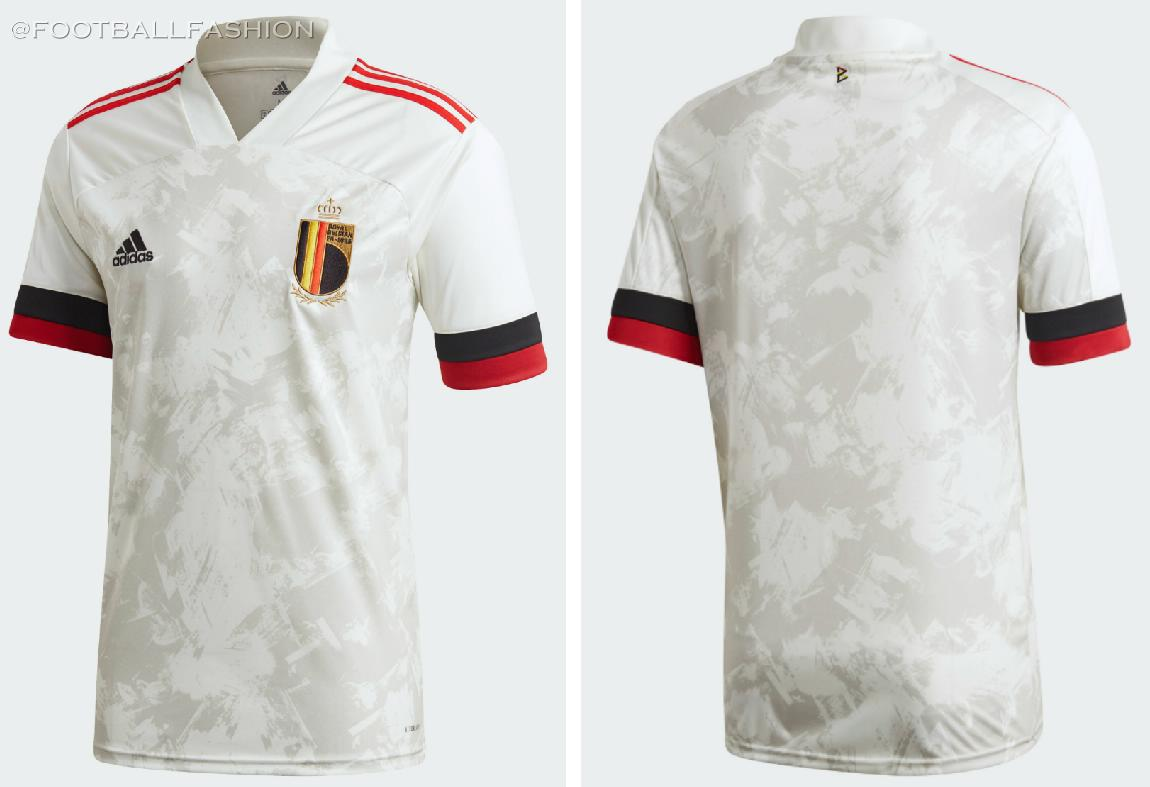 Belgium 2020 21 Adidas Away Kit Football Fashion