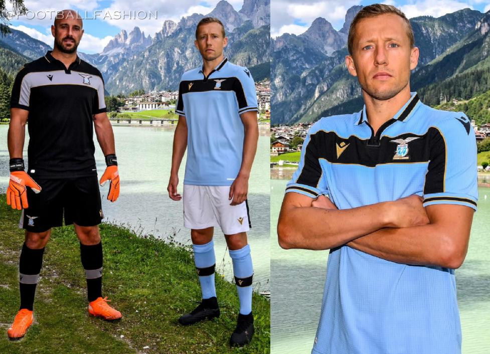 Ss Lazio 2020 21 Macron Champions League Home Kit Football Fashion Org