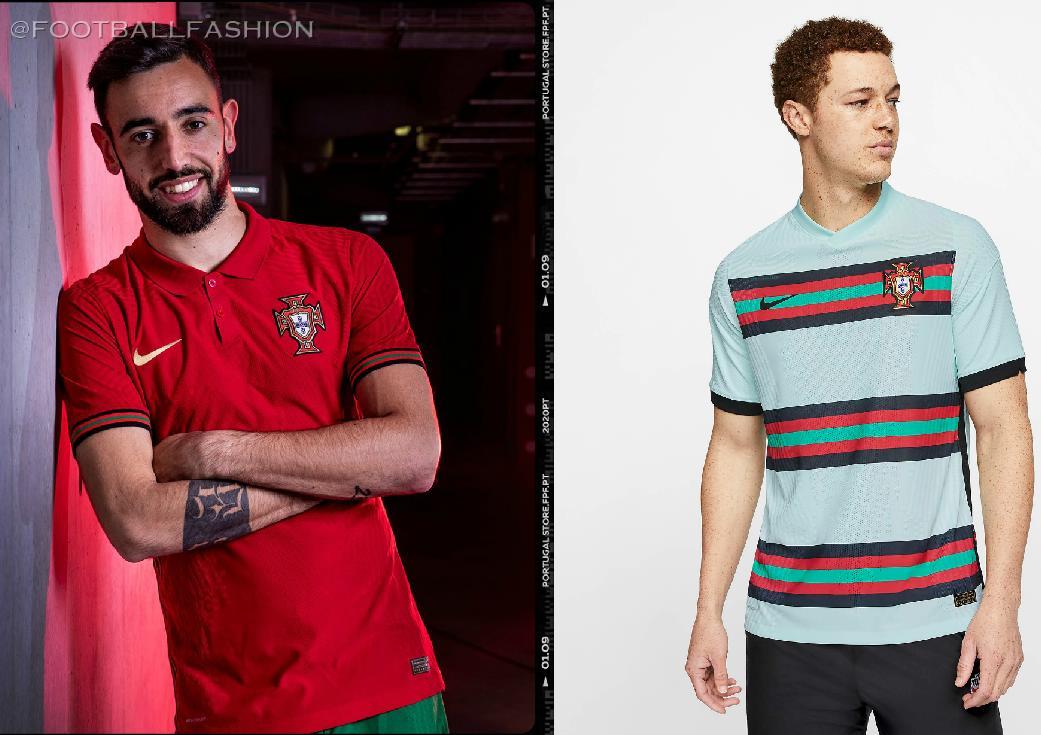 Portugal 2020 21 Nike Home And Away Kits Football Fashion