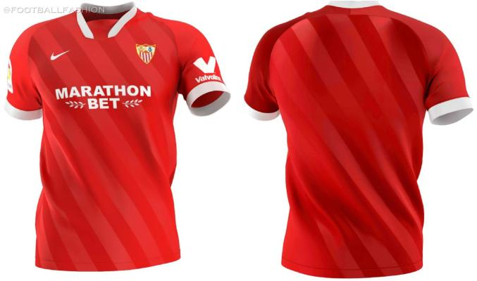 Sevilla FC 2020 2021 Nike Football Kit, 2020/21 Soccer Jersey, 2020-21 Shirt, Camiseta de Futbol, Camisa