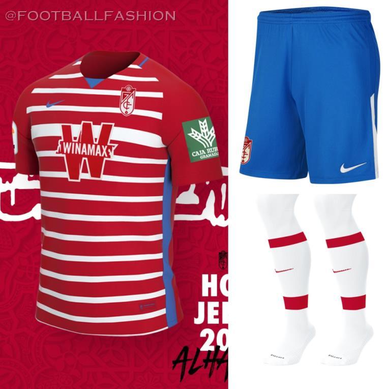 Granada CF 2020/21 Nike Home, Away and Third Kits - FOOTBALL FASHION