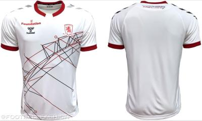 Middlesbrough 2020 2021 hummel Third Football Kit, 2020-21 Soccer Jersey, 2020/21 Shirt