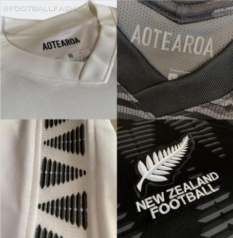 New Zealand 2020 2021 Nike Home and Away Soccer Jersey, 2020-21 Football Kit, 2020/21 Shirt