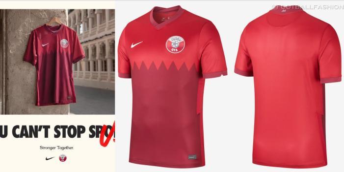 Qatar 2020 2021 Nike Home and Away Soccer Jersey, 2020-21 Shirt, 2020/21 Football Kit