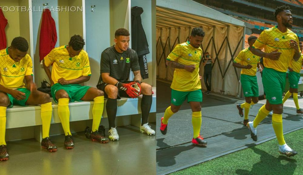 South Africa 2020 2021 le coq sportif Home, Away and Third Football Kit, 2020-21 Soccer Jersey, 2020/21 Shirt