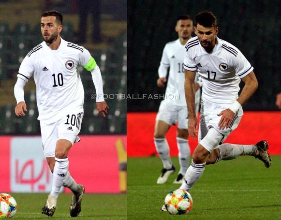 Bosnia and Herzegovina 2020 2021 adidas Home Football Kit, 2020-21 Soccer Jersey, 2020/21 Shirt, Dres