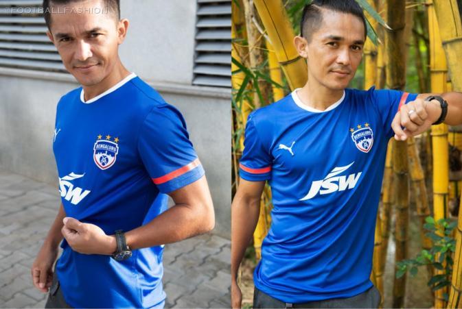Bengaluru FC 2020/21 PUMA Home and Away Football Kit, 2020 2021 Soccer Jersey, 2020-21 Shirt